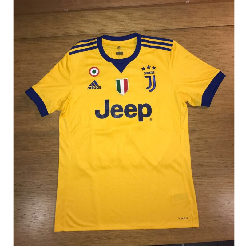 Marchisio's Official Juventus Shirt, Signed 2017/18