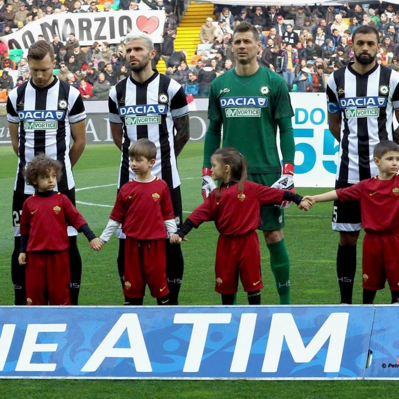 Take to the Field as a Mascot for the Udinese-Fiorentina Match