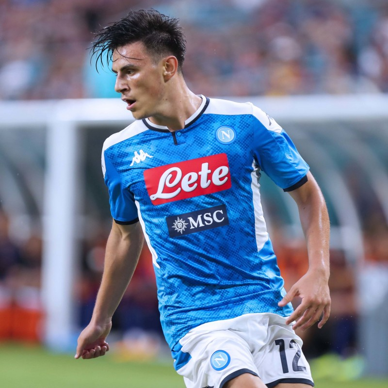 Elmas' Napoli Match Shirt, 2019/20