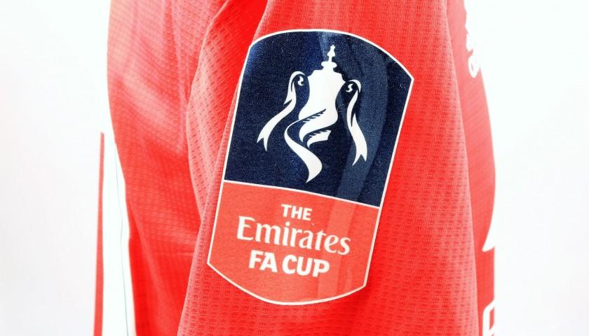 Rashford's Man Utd Match Shirt, FA Cup 2018/19