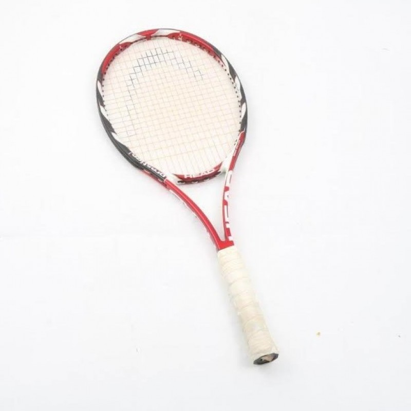 Tennis Racket Signed by Italian Champion Filippo Volandri