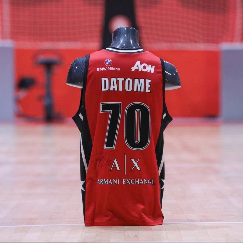 Datome's Olimpia Milano Signed Match Jersey