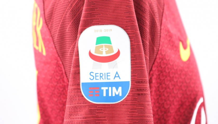 Under's Worn and Signed Shirt, Roma-Genoa 2018