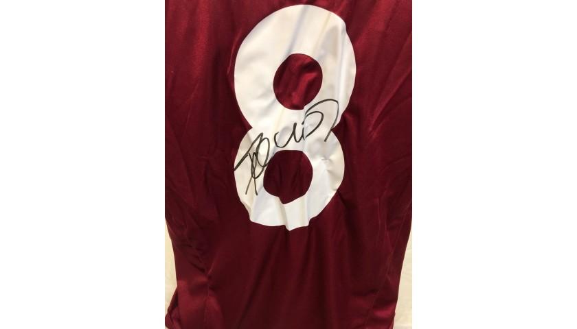 Poborsky's Official Sparta Praga Signed Shirt, 2004/05