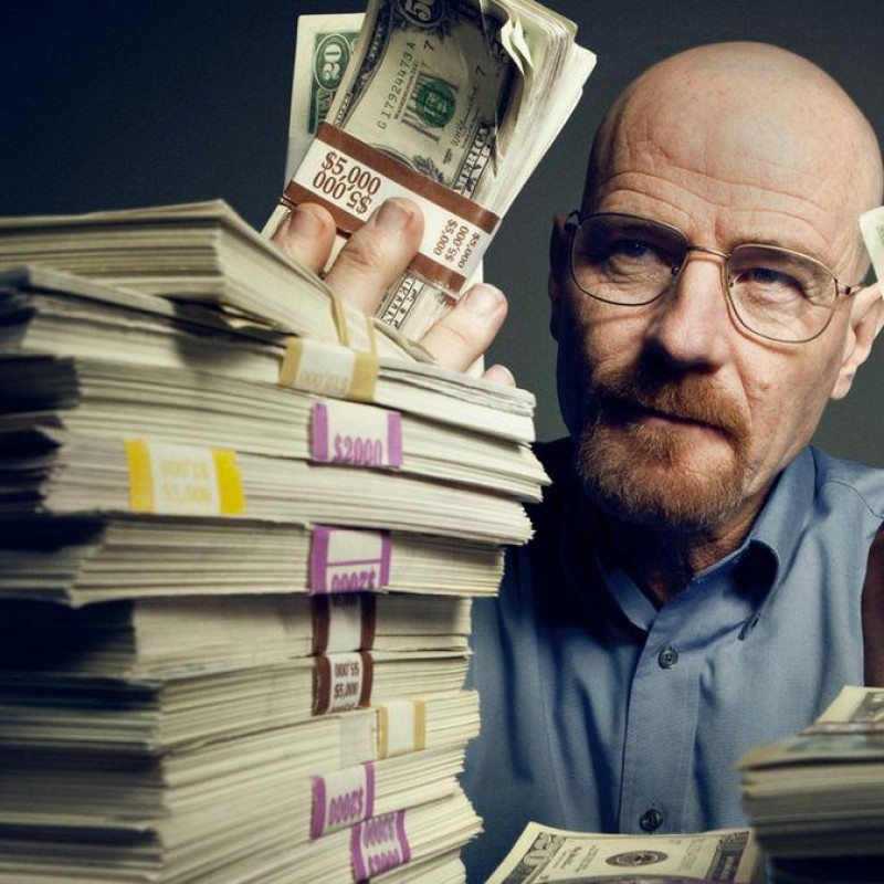 Breaking Bad Production Used $50 Note