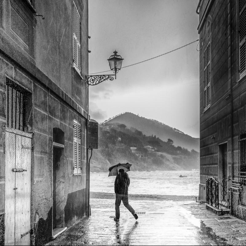 """Bay of silence - Sestri Levante"" Photograph by Alberto Scandalitta"
