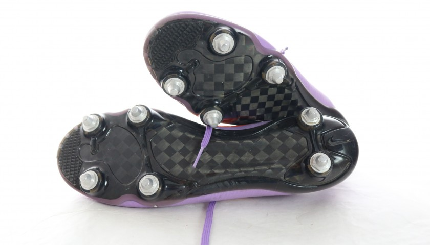Mauro Zarate's Worn Football Boots