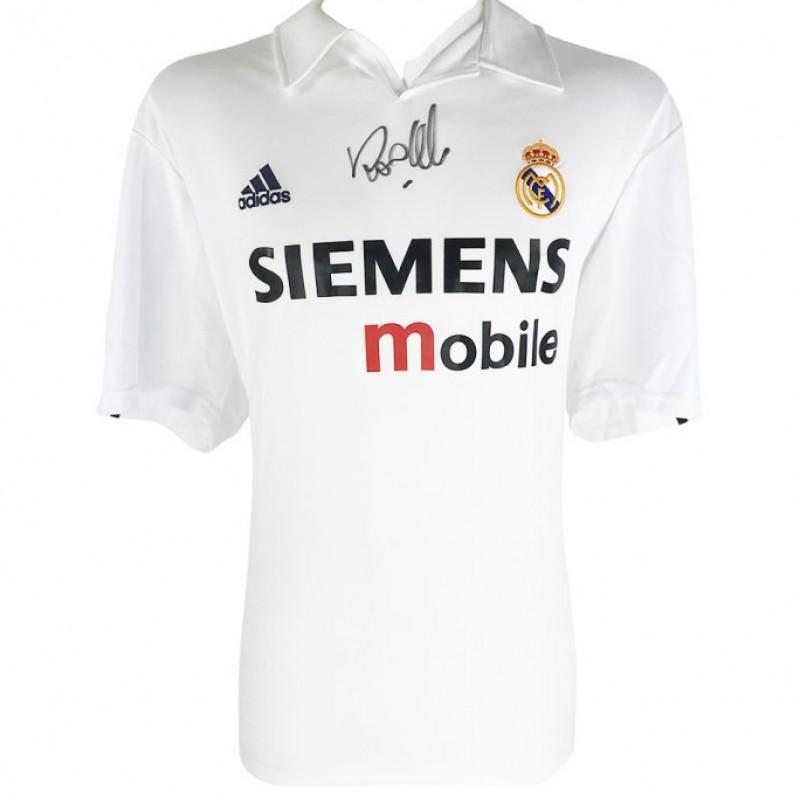 Ronaldo's Real Madrid Galacticos Signed Shirt