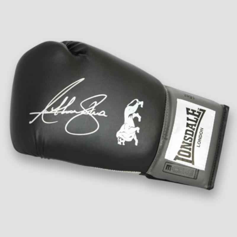 Anthony Joshua Lonsdale Signed Boxing Glove