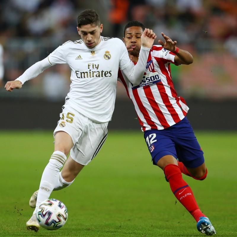 Lodi's Atletico Madrid Match Shirt, Supercopa de España 2019