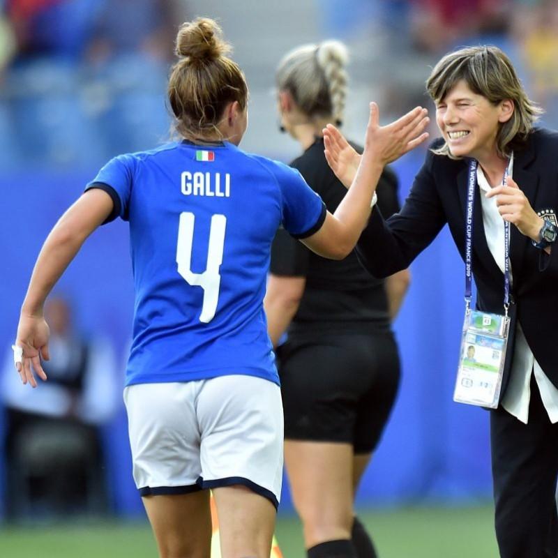 Galli's Match Shirt, Israel-Italy 2019