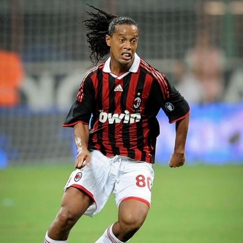 Ronaldinho's Official Milan Signed Shirt, 2009/10