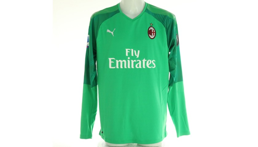 Donnarumma's Official Milan Signed Shirt, 2019/20
