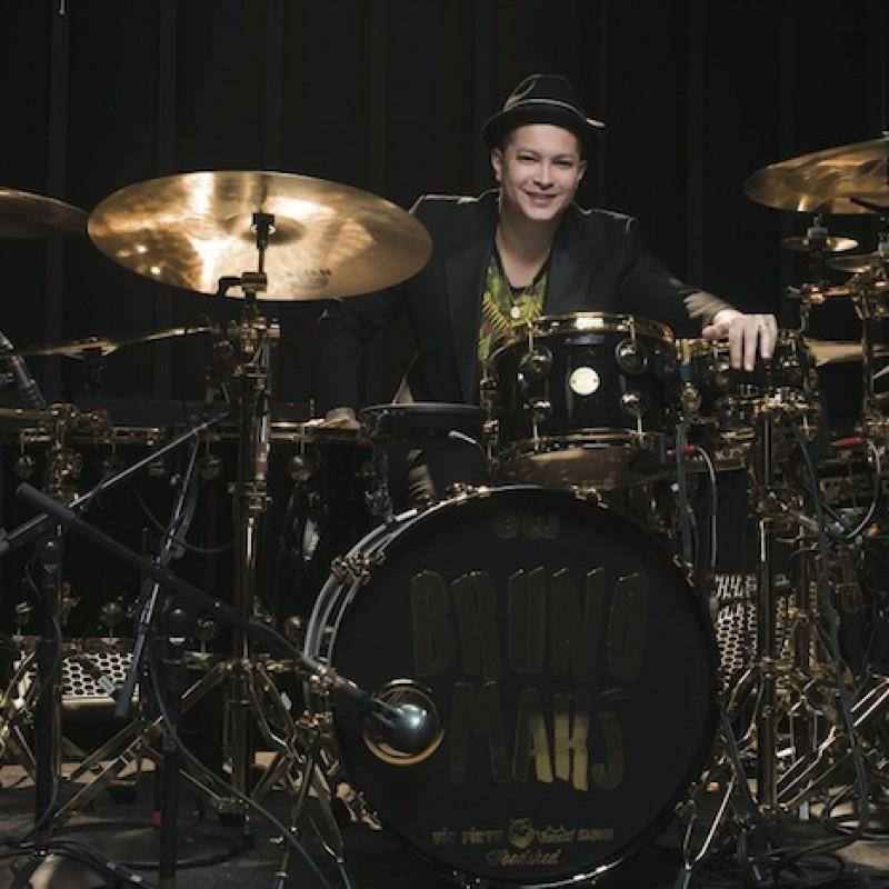 Eric Hernandez, Bruno Mars Band Signature Drum Shell Shades