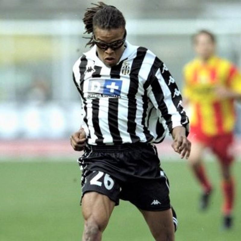 Davids' Juventus Worn Shirt, 1999/00