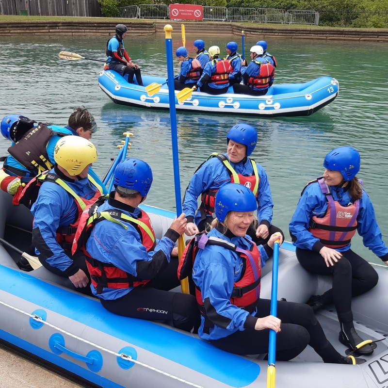 Rafting With GB Slalom Canoeist Gold Medal For 8/9 People