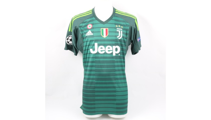 Szczesny's Official Juventus Shirt, 2018/19 - Signed by the Players