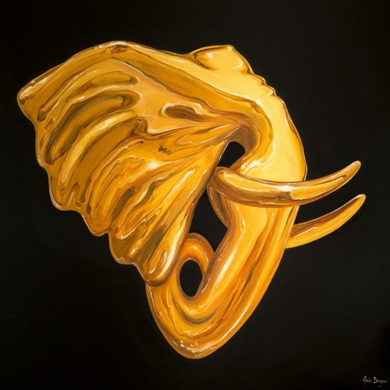 Lithograph « Eléphantasme » by Anis Dargaa