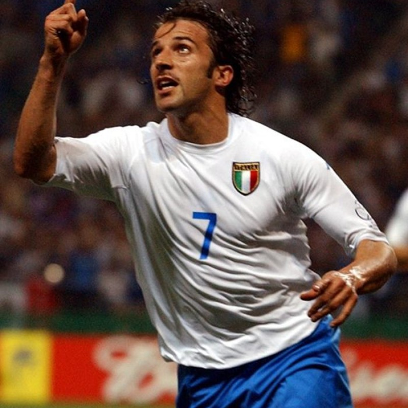 Del Piero's Italy Match-Issue/Worn Shorts, World Cup 2002