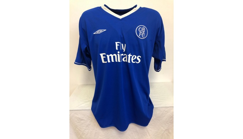 Lampard's Official Chelsea Signed Shirt, 2003/04