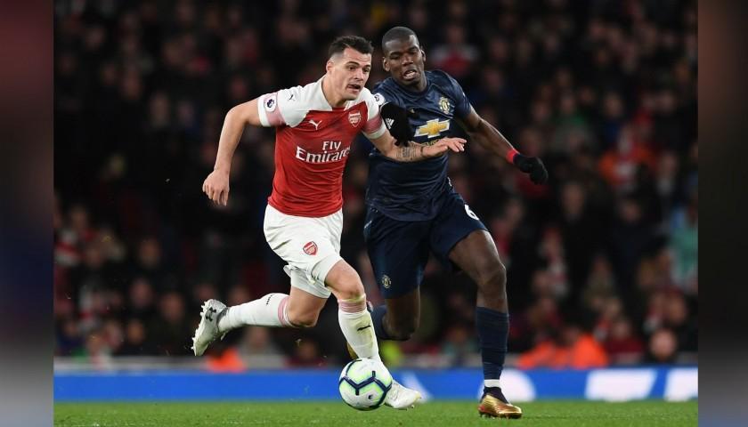 Pogba's Match Shirt, Arsenal-Man Utd 2019