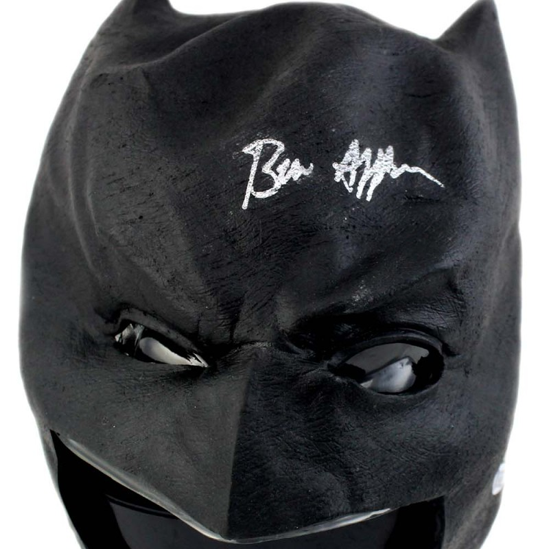 Ben Affleck Signed Batman Mask