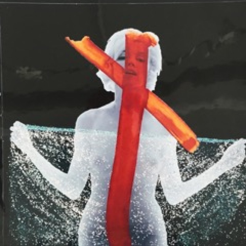 """Marilyn Crucifix II"" by Bert Stern"