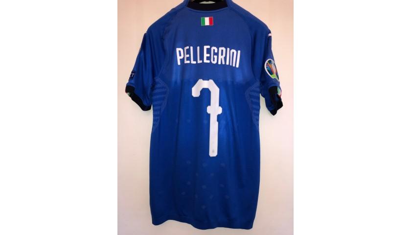 Pellegrini's Match Shirt, Finland-Italy 2019