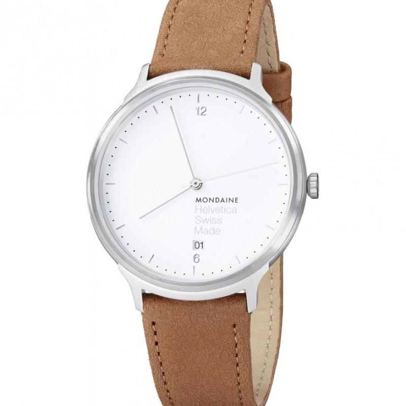 Mondaine Helvetica Hand Winder Watch