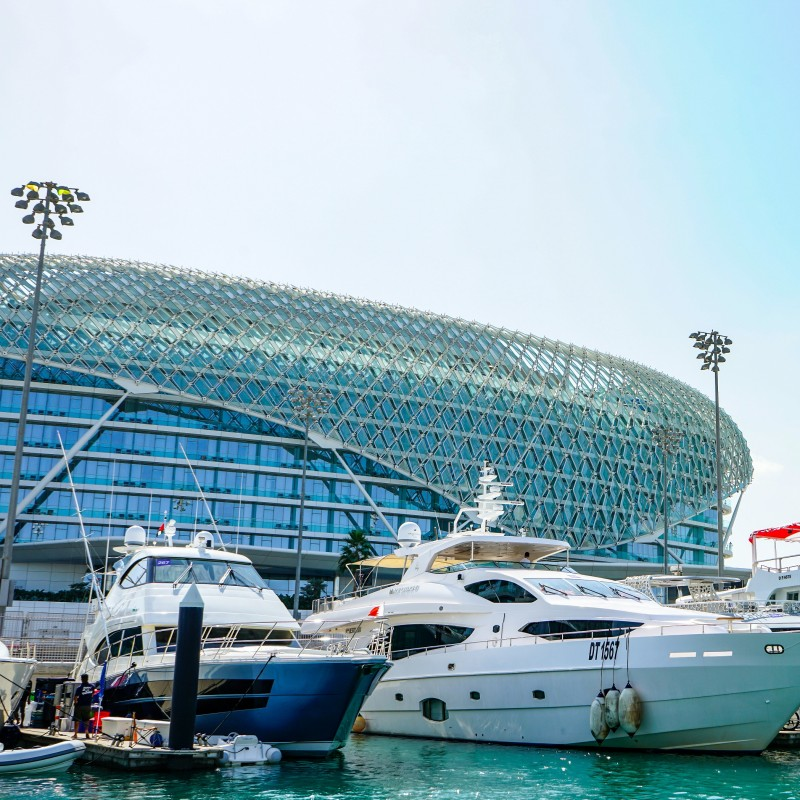 Abu Dhabi Grand Prix Weekend Aboard a Superyacht for 2