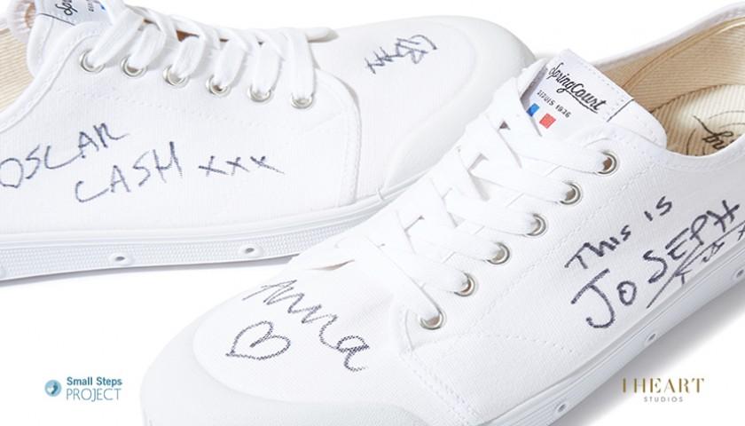 Metronomy Signed Shoes