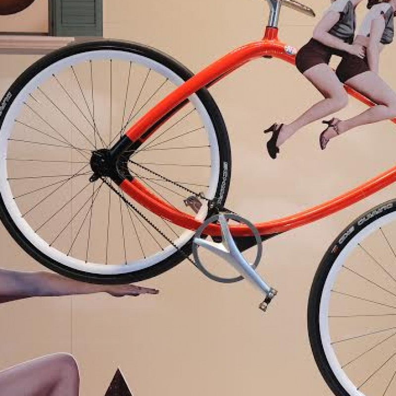 RIZOMA METROPOLITAN BIKE CUSTOMIZED FOR Vanity fair 10