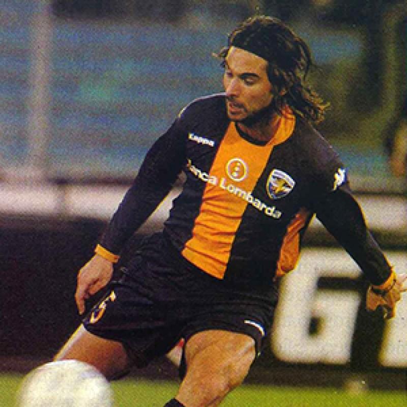 Di Biagio's Worn and Signed Shirt, Lazio-Brescia 2005