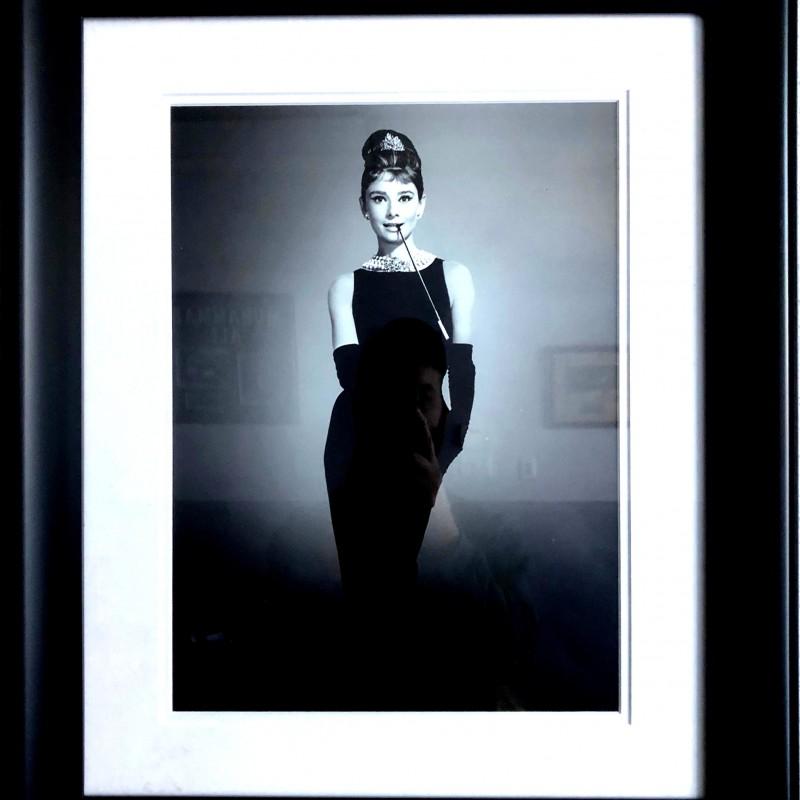 "Audrey Hepburn,""Breakfast At Tiffany's"" Framed Portrait"