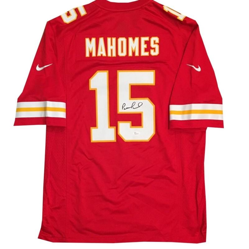 Patrick Mahomes Hand Signed Kansas City Chiefs Jersey