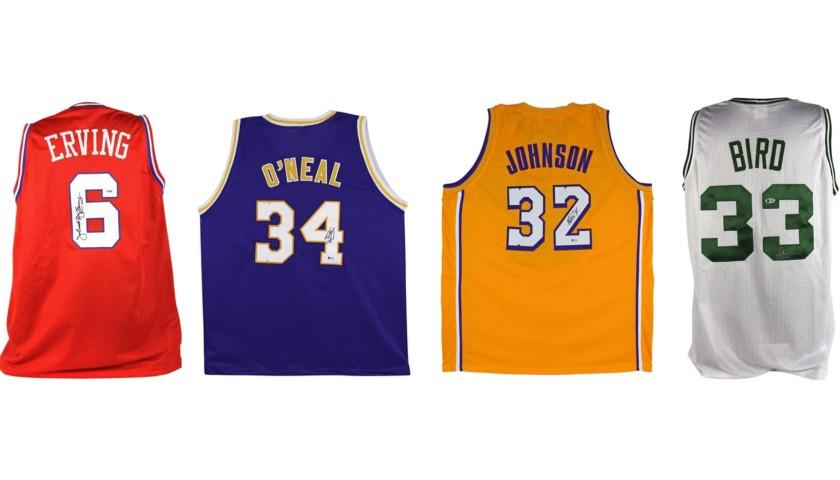 Basketball Legends Mystery Box: Hand Signed Jersey