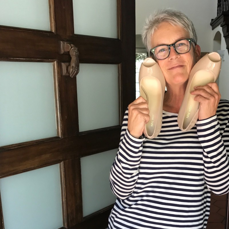 Jamie Lee Curtis' Autographed Heels from her Personal Collection