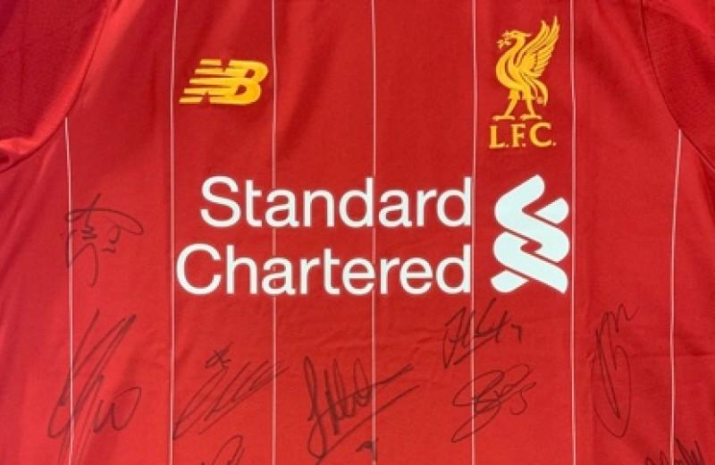 Team Signed Liverpool FC Shirt