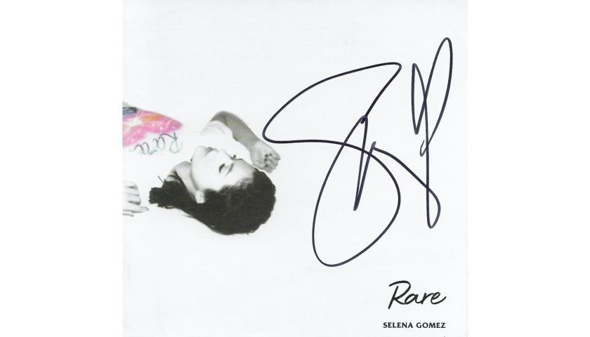 Selena Gomez Hand Signed, Custom Framed Display