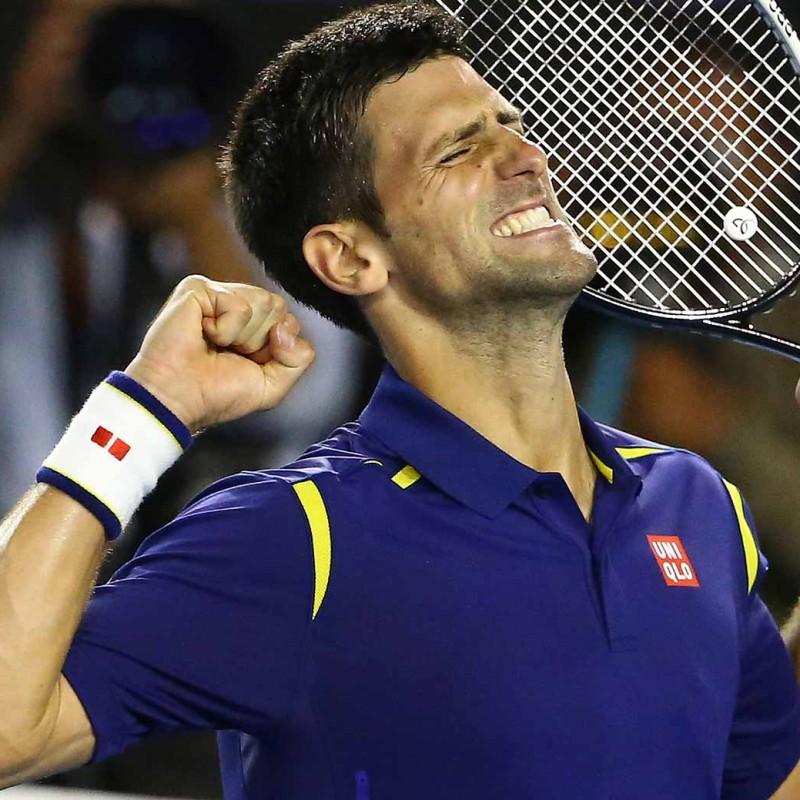 Novak Djokovic's Australian Open victory racket