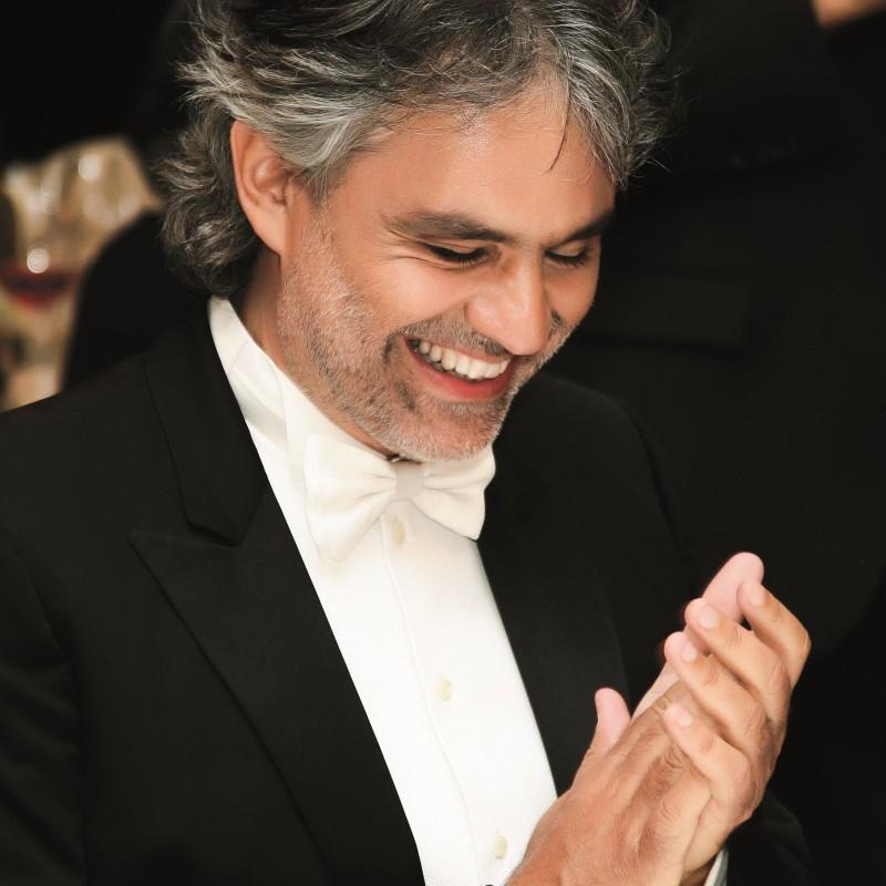 Una serata con il Maestro Andrea Bocelli a Verona