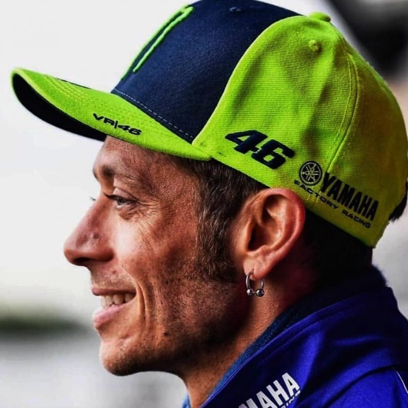 Valentino Rossi Signed Monster Cap