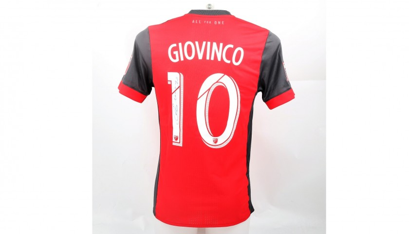 pretty nice 2f579 f0a2c Giovinco's Toronto MLS Match-Worn Shirt, Autographed 2017 - CharityStars