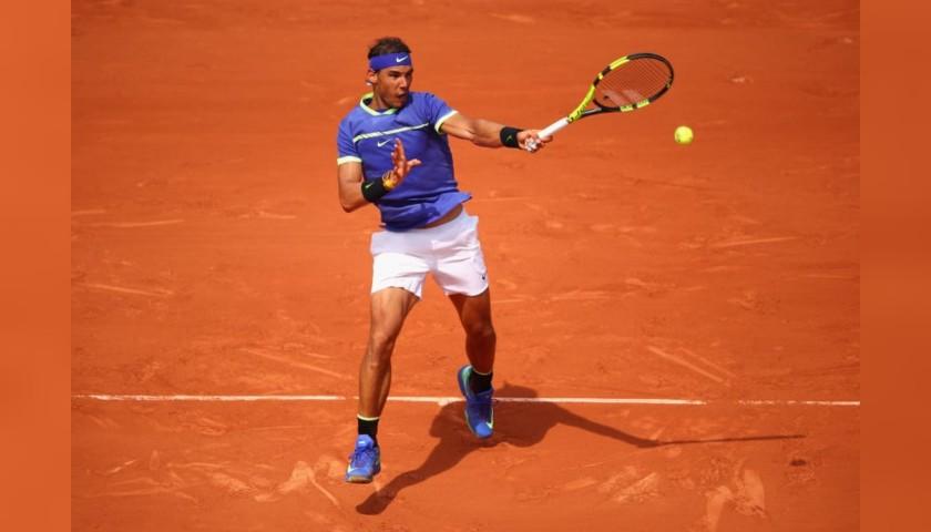 Wilson Roland Garros Tennis Ball Signed by Rafa Nadal