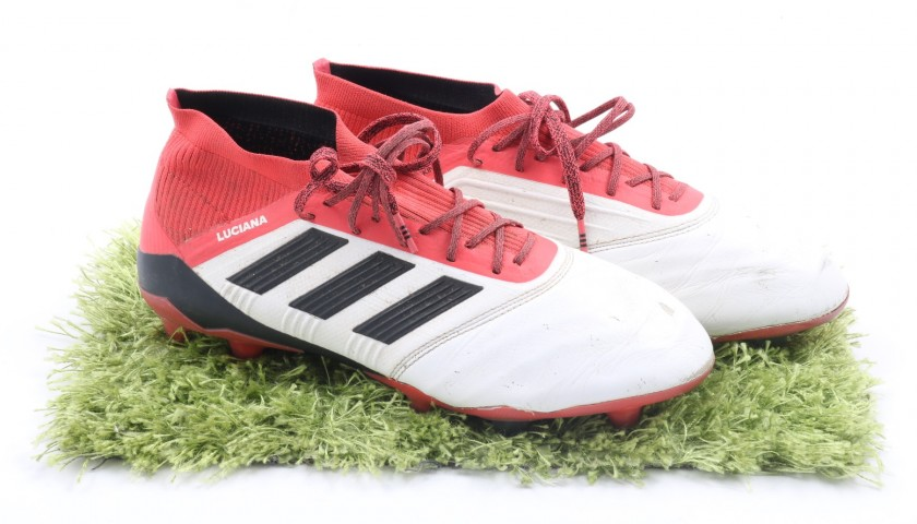 Andrea Bertolacci's Match-Worn Adidas Predator Boots - 2017/18 ...