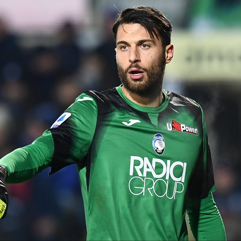 Sportiello's Official Atalanta Signed Shirt, 2019/20