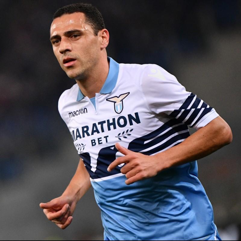 Romulo's Lazio Worn Shirt, Serie A 2018/19