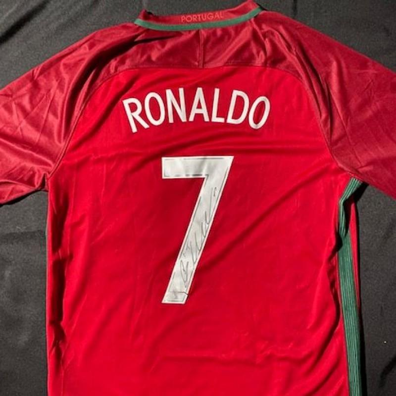 Cristiano Ronaldo Signed Portugal Jersey