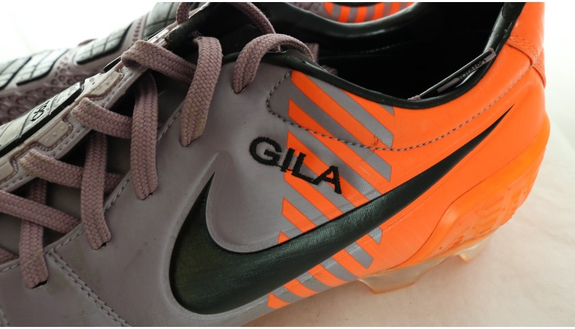 Alberto Gilardino's Worn Nike Boots