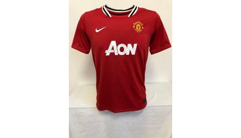 Rooney's Official Manchester United Signed Shirt, 2011/12